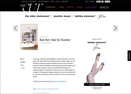 New York Magazine Best Bet urbnCal feature